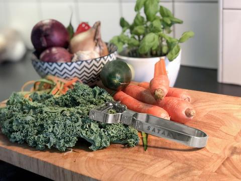 Satake grönsaksstrimlare fin miljö