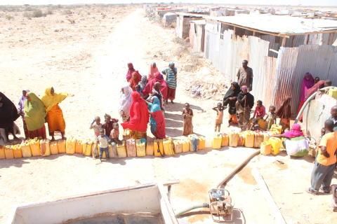Extrem torka i östra Afrika — Diakonia är på plats