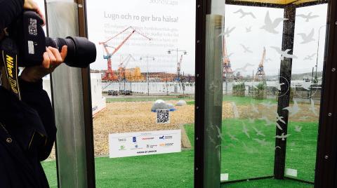 Nu inviger vi ett väder- och bullerskyddat stadsrum på Masthuggskajen