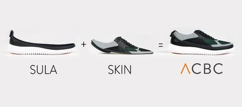 MEET ACBC. SAY GOODBYE TO TRADITIONAL SHOES.