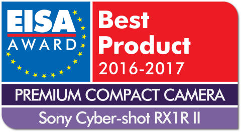 EUROPEAN PREMIUM COMPACT CAMERA 2016-2017 - Sony Cyber-shot RX1R II drop shadow