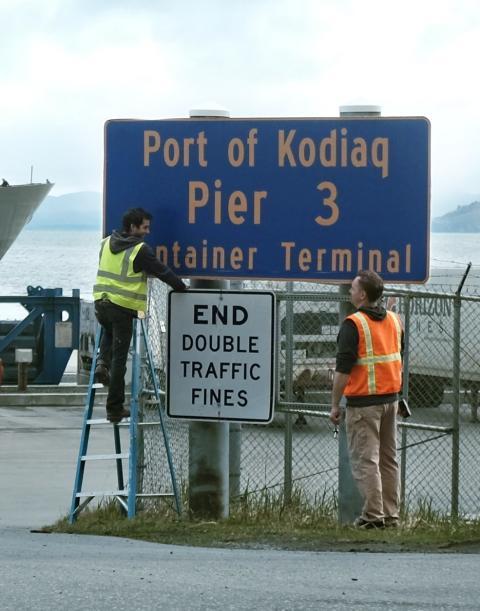 Ön Kodiak på Alaskas sydkust blev Kodiaq för en dag.
