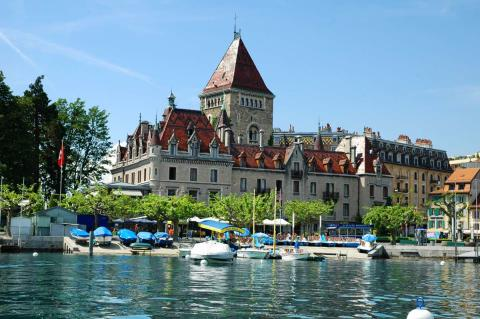 Chateau d'Ouchy Lausanne