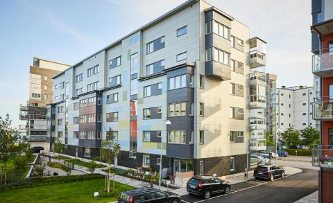 Pressinbjudan: Brf Sjökortet är första Miljöbyggnad Guld i Västerås