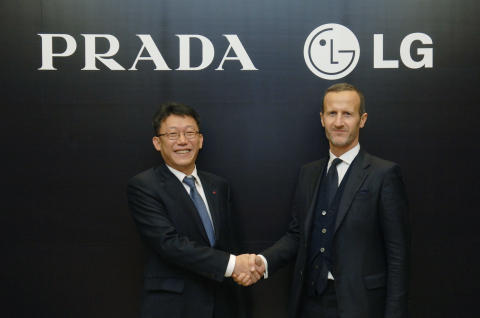PRADA and LG sign exclusive agreement