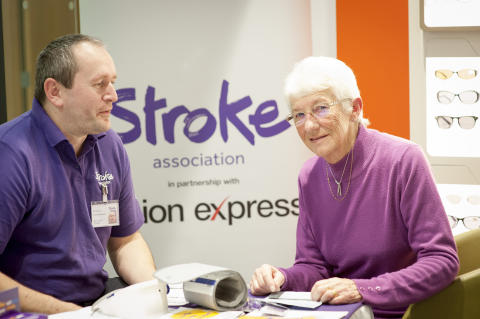 GP referral as Norwich residents receive free blood pressure checks to highlight stroke risk