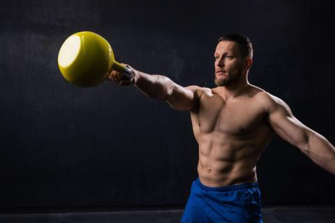 CAPITAL Sports Compket Kettlebell 16kg gelb