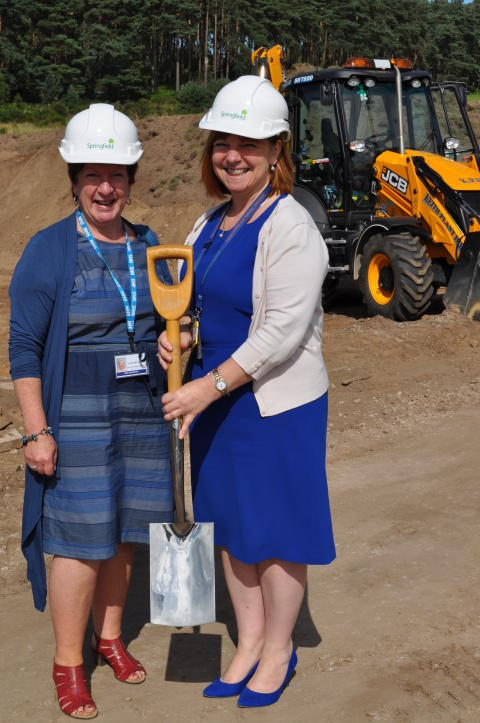 Work under way on £2.5million supported housing at Lhanbryde
