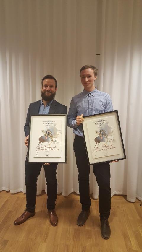Medarbetare på Swedavia tilldelas miljöpris för arbete med geofilter på Stockholm Arlanda Airport
