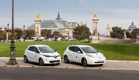 Renault viser vejen under COP 21 i Paris