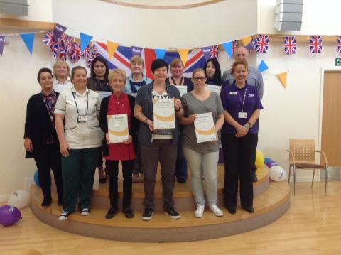 ​Stroke Champions honoured in Salford