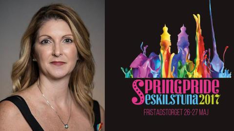Överlevare från Pulse Nightclub, Orlando, till Springpride i Eskilstuna