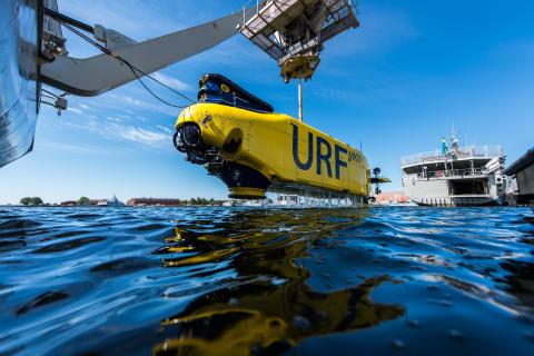 Ett unikt tillfälle att besöka dykeri och ubåtsräddningsfartyget HMS Belos i Malmö