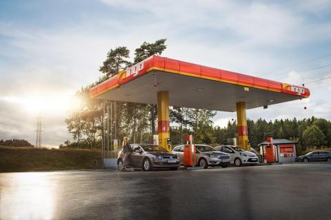 INGO har öppnat ny automatstation i Ytterhogdal