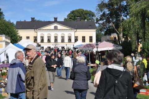 Trädgårdsmässan vid Taxinge Slott första helgen i september