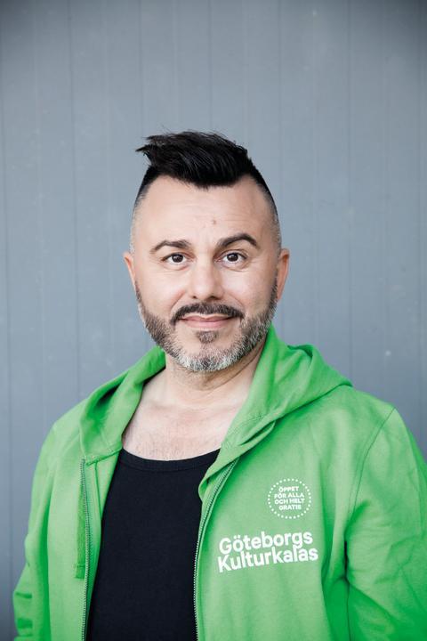 Tasso Stafilidis, verksamhetsansvarig på Göteborg & Co för Kulturkalaset