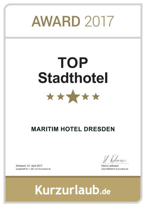 TOP Stadt Hotel: Maritim Hotel Dresden .