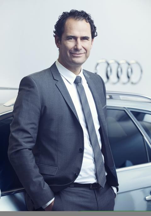 Marco Schubert, chef Audi Sverige