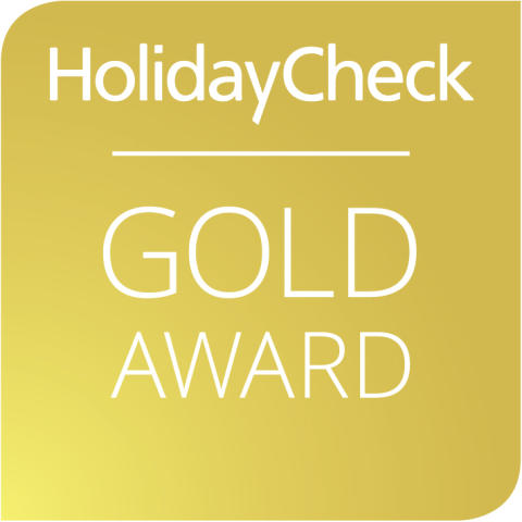 HolidayCheck Gold Award für das DolceVita Hotel Feldhof