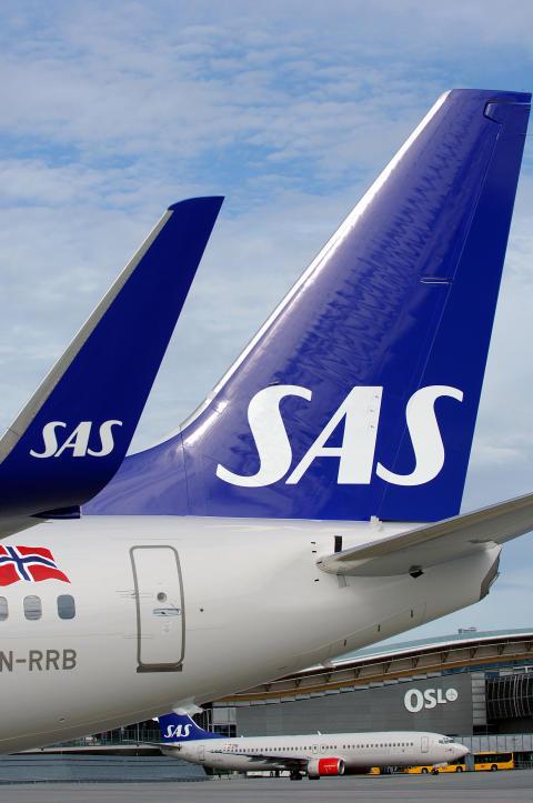 SAS utökar flygtrafiken på Skellefteå Airport