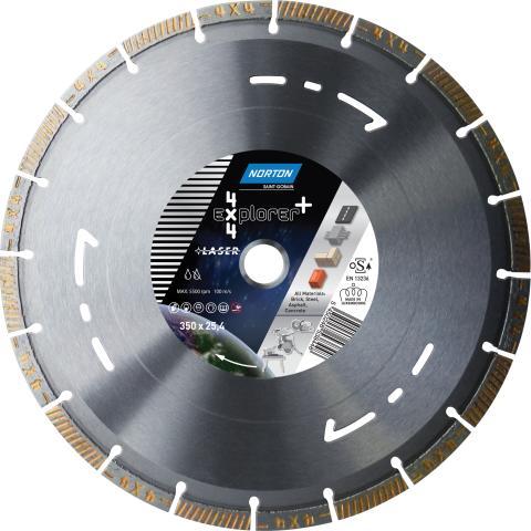 4x4 Explorer+ - Diamantklinga 350 mm