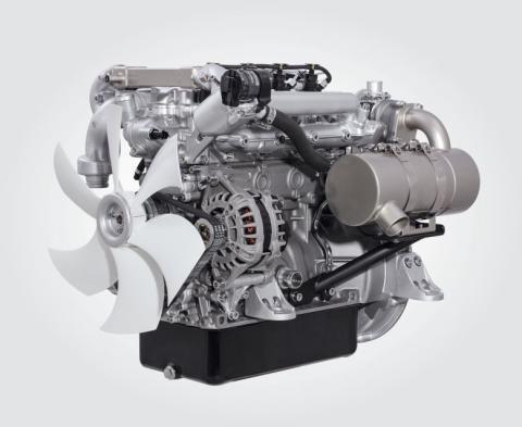 Tvåliters turbodiesel från Hatz sätter ny standard på MaskinExpo