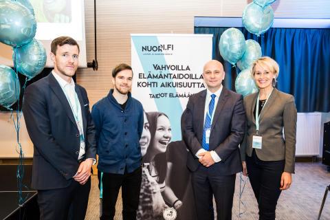 Adecco urheilee hyväntekeväisyyteen yhteistyössä Lasten ja Nuorten säätiön kanssa