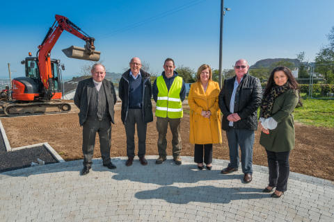 Ballycarry MUGA pitch on track for June completion