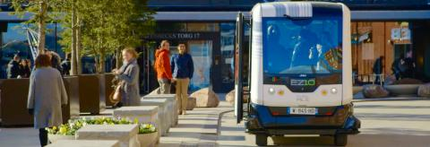 Självkörande bussar – en del av vår framtidsresa?