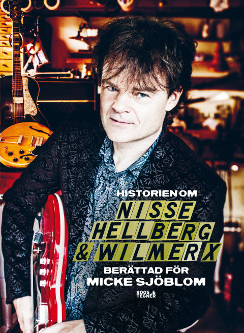 Historien om NIsse Hellberg och Wilmer X bok omslag