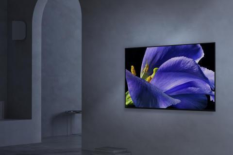 Chega às lojas o televisor OLED 4K HDR BRAVIA, da icónica série AG9 da Sony