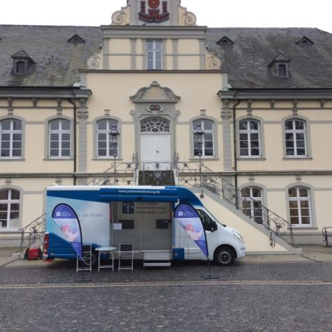 Beratungsmobil der Unabhängigen Patientenberatung kommt am 19. Juni nach Lippstadt.
