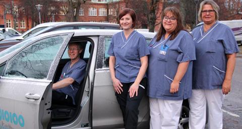 Norrtälje sjukhus testar mobilt sjukvårdsteam