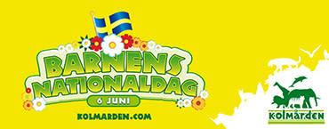 Evenemangstips: Barnens nationaldag på Kolmården