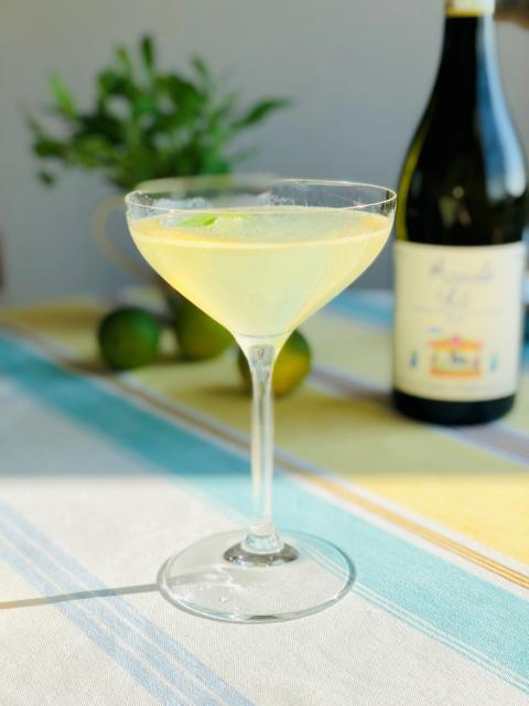 Moscato cocktail med Gianni Doglia