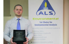 ALS Environmental presented with Laboratory Excellence Award