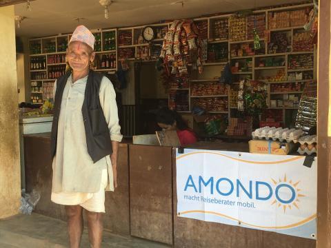 AMONDO SCHAFFT EIN ZUHAUSE IN NEPAL