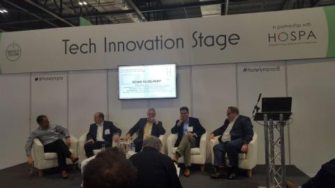 'Bound to Delivery' live on the Tech Innovation Stage at Hotelympia 2018