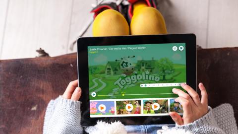Appsfactory realisiert die neue Toggolino App von SUPER RTL