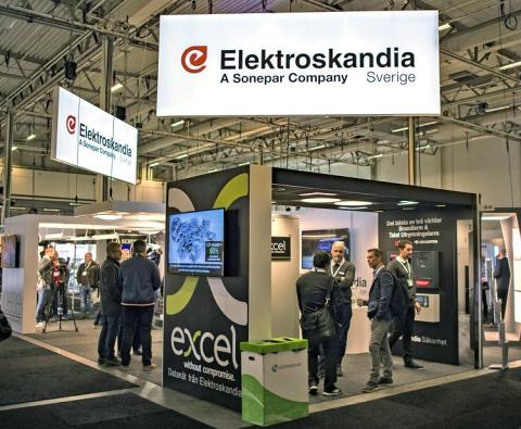 Besök Elektroskandia på Elmässan i Malmö 22–23 januari 2020