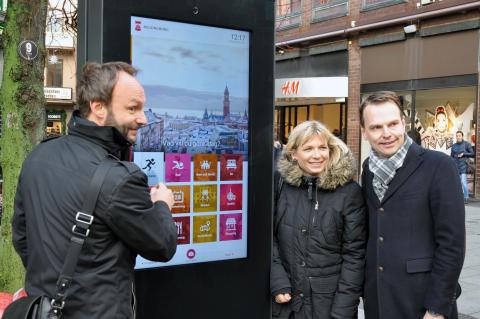 Helsingborg satsar på ny webbplats och digitala infoskyltar