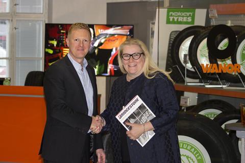Vianor ja Bridgestone solmivat jakelusopimuksen yksinoikeudella kolmeen Pohjoismaahan
