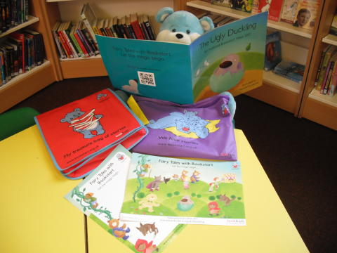 Family fairytales during Bookstart Week