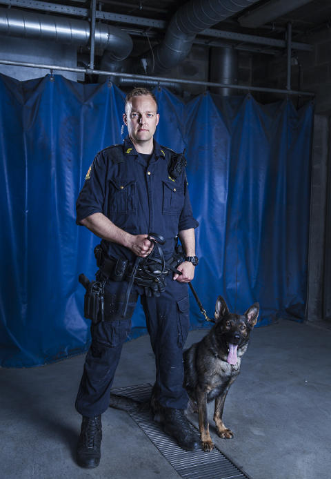 Hundepatruljen Oslo - Lars og Gatlin