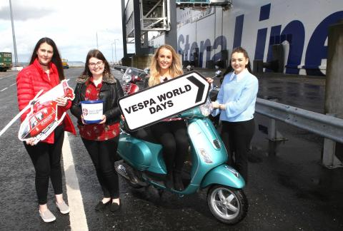 Stena Line announced as headline sponsor for Vespa World Days 2018
