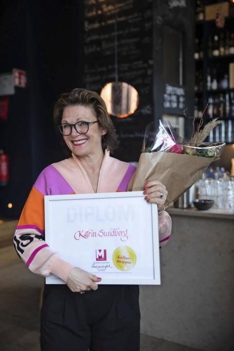 Årets Kulturmappie, Katrin Sundberg