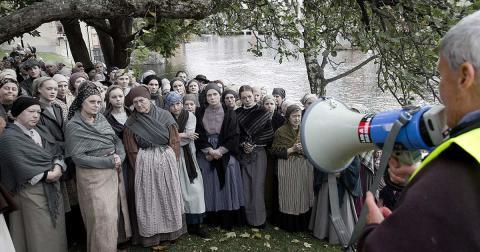 Uppmanade pigorna till revolt redan 1928