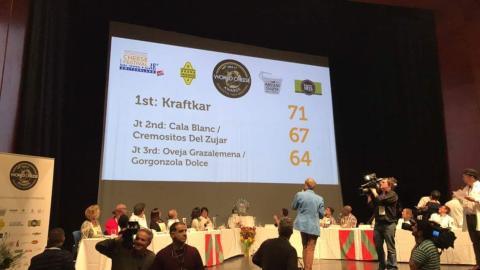 Schwarz auf weiß: Das Ergebnis bei den World Cheese Awards