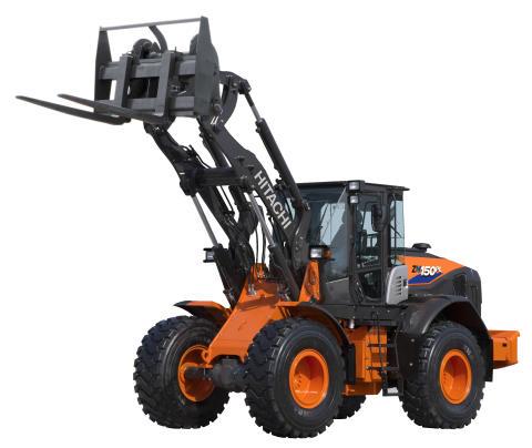 Hitachi hjullastare ZW150-6_Delvator
