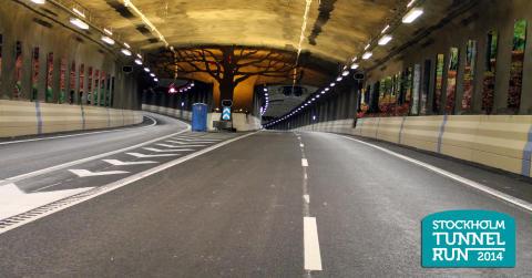 - Stockholm Tunnel Run snart fulltecknat -